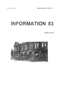 INFORMATION 83 - British Brick Society