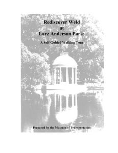 Rediscover Weld at Larz Anderson Park