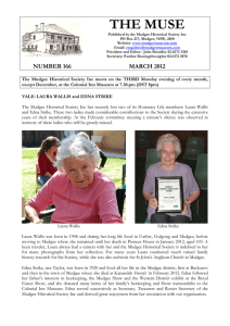 MUSEMARCH2012online - Mudgee Historical Society Inc