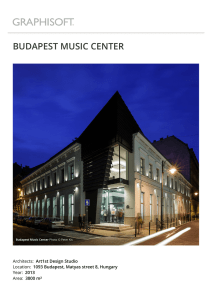 budapest music center