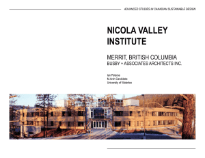 nicola valley institute