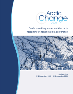 Conference Programme and Abstracts Programme et