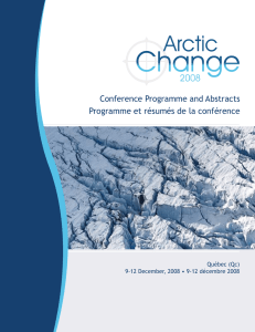 The Conference Programme and abstracts is now available