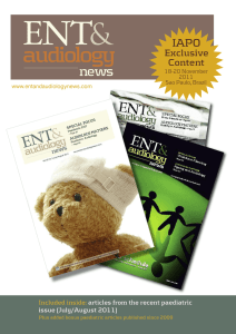 audiology - ENT and Audiology News