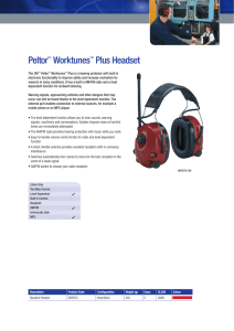 Peltor™ Worktunes™ Plus Headset