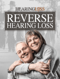 Amish Herbs for Hearing Loss