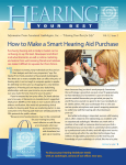 H earing How to Make a Smart Hearing Aid Purchase