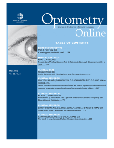 Freeman May 2012 - American Optometric Association