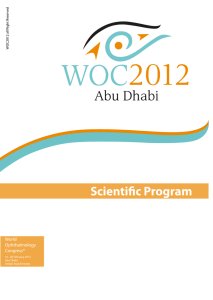 Friday, 17 February 2012 - International Council of Ophthalmology
