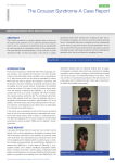 The Crouzan Syndrome-A Case Report