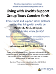 Living With Uveitis Support Group Schedules Next Event