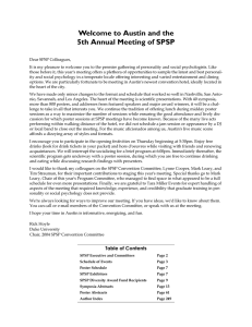 Program PDF - SPSP - Society for Personality and Social Psychology