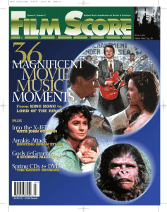 - Film Score Monthly