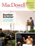 Gunther Schuller - The MacDowell Colony