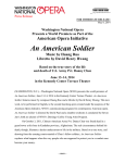 An American Soldier - The John F. Kennedy Center for the