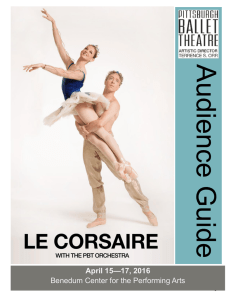 Audience Guide - Pittsburgh Ballet Theatre