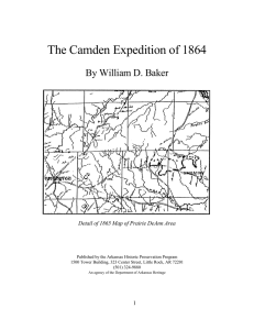 The Camden Expedition of 1864