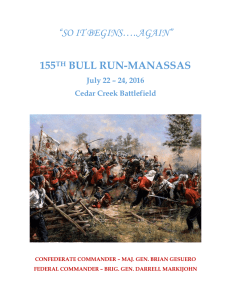 """SO IT BEGINS…..AGAIN"" 155TH BULL RUN"