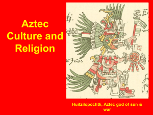 Aztec Culture and Religion