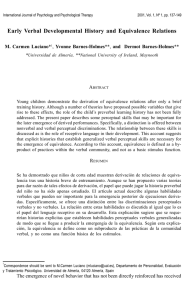 Articulo MC Luciano - International Journal of Psychology and
