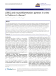 LRRK2 and neuroinflammation: partners in crime