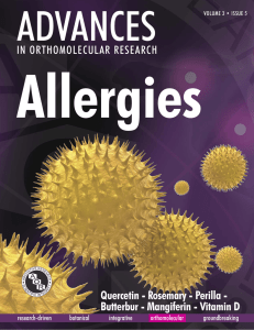 Allergies ADVANCES Quercetin - Rosemary - Perilla -
