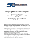 EMT Basic Entrance Application 2013