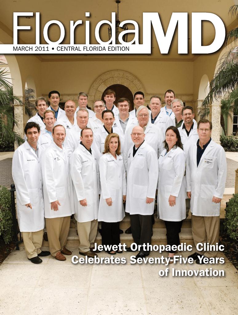 Jewett Orthopaedic Clinic Celebrates Seventy