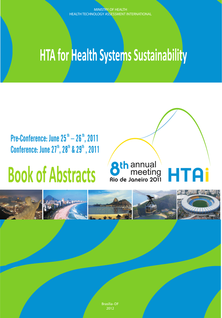 Hta For Health Systems Sustainability Book Of Abstracts