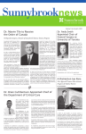 SB News June 09 No.8.indd - Sunnybrook Health Sciences Centre