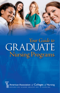 GRADUATE - American Association of Colleges of Nursing