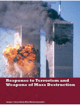 Response to Terrorism and Weapons of Mass Destruction