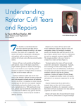 Understanding Rotator Cuff Tears and Repairs