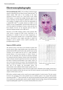 Electroencephalography - Department of Computational and