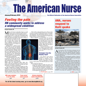 The American Nurse Jan/Feb 2010
