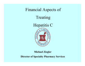 Financial Aspects of Treating Hepatitis C