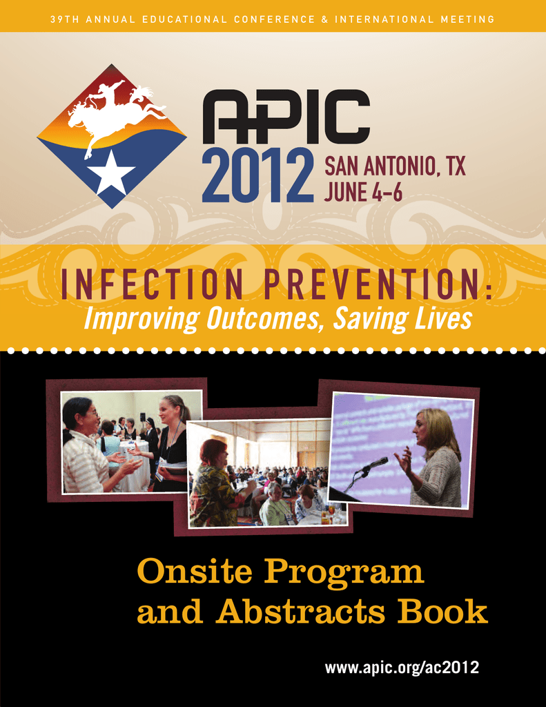 APIC 2012 Onsite Program