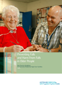 Preventing Falls and Harm From Falls in Older People