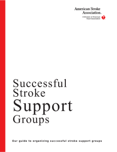 Successful Stroke Support Groups