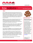ToxTidbits (March/April 2013)