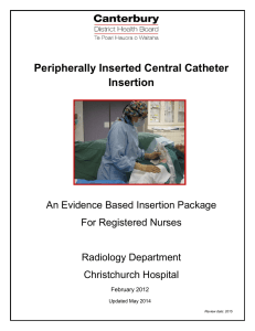 PICC nurse inserter package