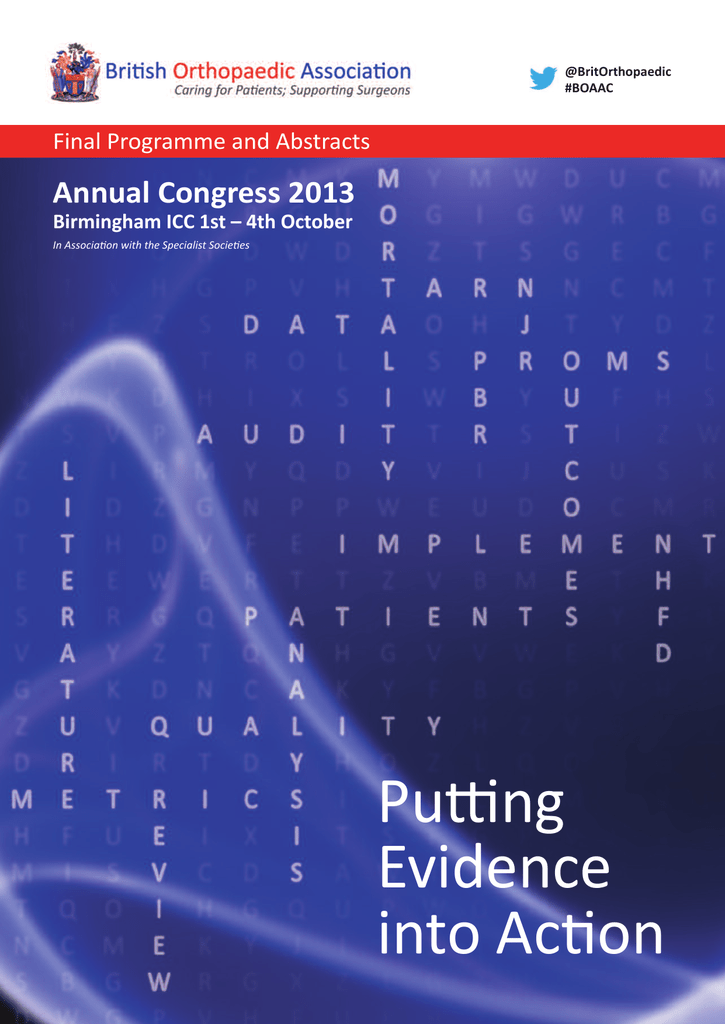 28d8ff2abd Here - BOA Annual Congress - British Orthopaedic Association