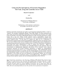 Crisis and the Emergence of Social Regulation _1938 Act St…