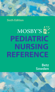 Mosby`s Pediatric Nursing Reference