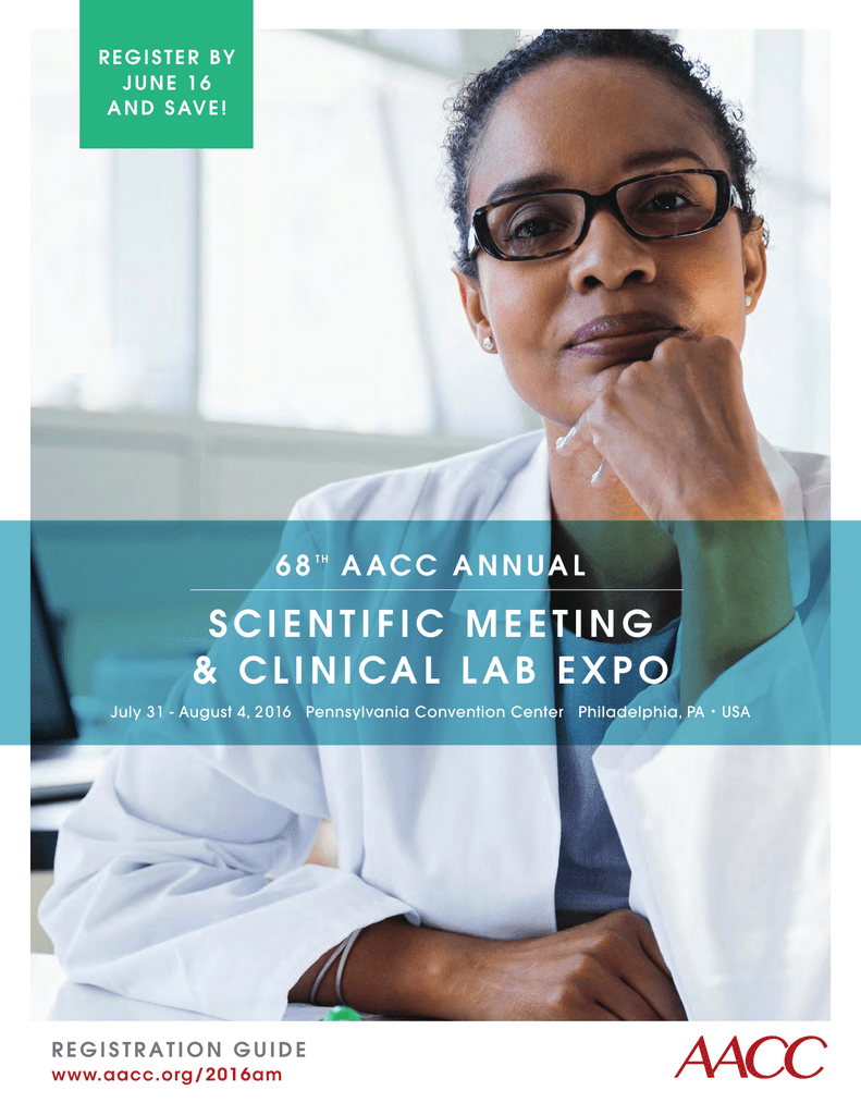 View the Conference Brochure - American Association for Clinical