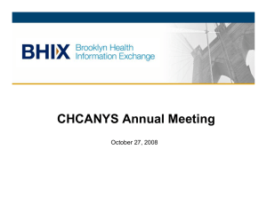 CHCANYS Annual Meeting