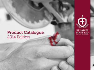 Product Catalogue 2014 Edition
