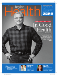 In Good Health - Baylor Health Care System Online Newsroom