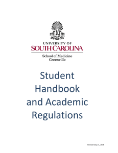 Student Handbook and Academic Regulations