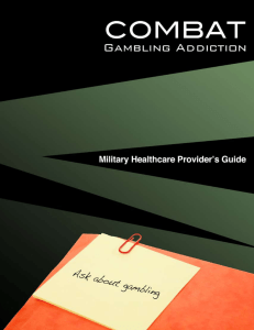 Untitled - National Council on Problem Gambling